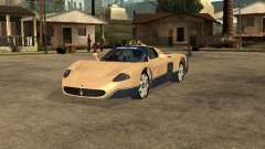 Maserati MC12 for GTA San Andreas