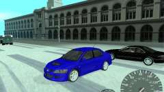Mitsubishi Lancer Evolution 8 FQ400 for GTA San Andreas