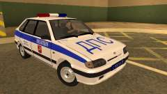 ВАЗ 2114 Police for GTA San Andreas