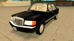 Mercedes Benz 560SEL w126 1990 v1.0 for GTA San Andreas