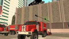 ZIL Firetruck for GTA San Andreas