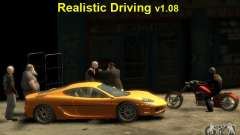 Realistic driving for GTA 4