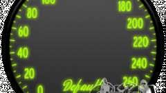Speedometer IV (Skin 7) for GTA 4