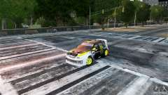 Subaru Impreza WRX STI Rallycross Monster Energy