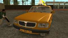 GAZ 3110 Taxi Oliva for GTA San Andreas