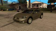 Mitsubishi Eclipse серый for GTA San Andreas