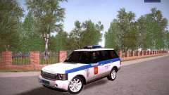 Range Rover Supercharged 2008 Police DEPARTMENT