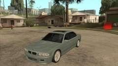BMW E38 M7 for GTA San Andreas