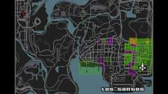 Maplist from GTA IV