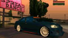 Honda Civic Tuned (corrected) for GTA San Andreas