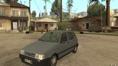 Fiat Uno 70s for GTA San Andreas