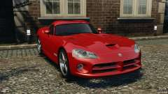 Dodge Viper SRT-10 Coupe for GTA 4