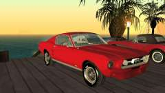 Ford Mustang 67 Custom for GTA San Andreas