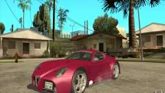 Alfa Romeo 8C GT3 RSX for GTA San Andreas