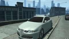 Alfa Romeo GT white for GTA 4