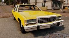 Ford LTD Crown Victoria 1987 L.C.C. Taxi