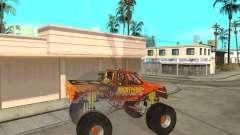 Mighty Foot for GTA San Andreas