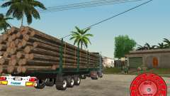 The trailer KRONE timber carrier