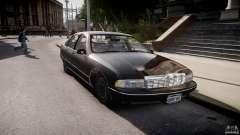 Chevrolet Caprice FBI v.1.0 [ELS] for GTA 4