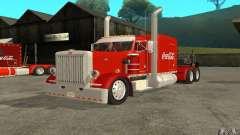 Peterbilt 379 Custom Coca Cola for GTA San Andreas