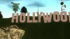 The Hollywood Sign for GTA San Andreas
