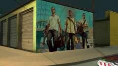 Poster Of GTA V