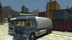 Mercedes Benz Actros Gas Tanker for GTA 4
