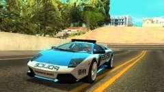 Lamborghini Murcielago LP640 Police V1.0 for GTA San Andreas