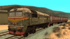 A train of the game s.t.a.l.k.e.r.