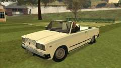 Vaz 2107 convertible
