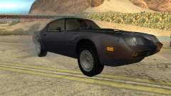 Pontiac Firebird Trans Am Turbo 1980 for GTA San Andreas
