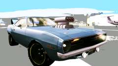Plymouth Cuda AAR 340 1970 Muscle Cars for GTA San Andreas