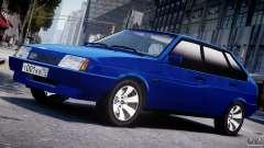 VAZ-21093i turquoise for GTA 4