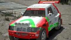 Mitsubishi Pajero Proto Dakar EK86 Vinyl 2