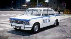 Fiat 125p Polski Milicja