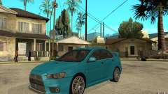 Mitsubishi Lancer Evo 2010 for GTA San Andreas