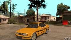 BMW E34 535i Taxi for GTA San Andreas