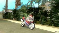 Yamaha FZR 750 white lighted for GTA Vice City