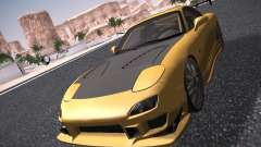 Mazda RX-7 FD3S C-West Custom for GTA San Andreas