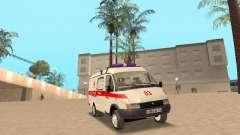 Gazelle 2705 ambulance for GTA San Andreas