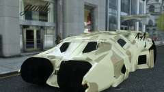 HQ Batman Tumbler for GTA 4