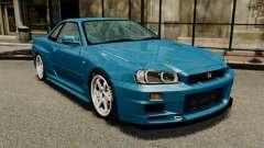 Nissan Skyline R34 2002 v1.1