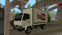 Truck with logo YouTube