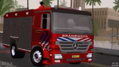 Mercedes-Benz Actros Fire Truck for GTA San Andreas