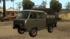 UAZ with tail lift