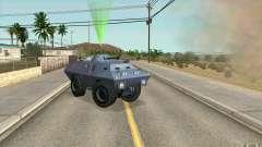 Guard on BTR for GTA San Andreas