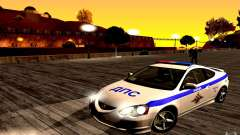 Acura RSX-S Police for GTA San Andreas