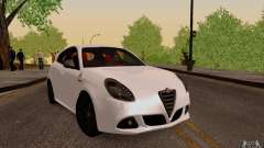 Alfa Romeo Giulietta 2010 for GTA San Andreas