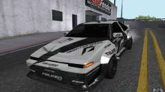 Toyota Corolla AE86 Shift 2 for GTA San Andreas