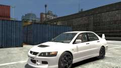 Mitsubishi Lancer Evolution IX 2010 for GTA 4